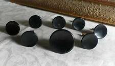 8 art deco TESTED bakelite metal Pull handles knobs 182 grams (s11261)
