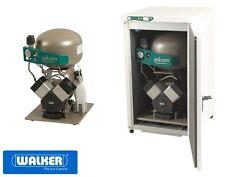 Dentalkompressor EKOM DK50-2V S/MD schallgedämmt mit Trockner - Laborqualität