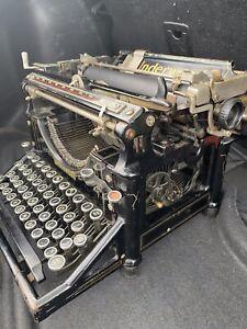 Underwood No 5 Vintage Typewriter