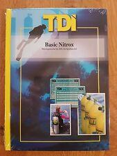 TDI Basic Nitrox  Lehrbuch