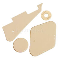Scratch Plate Cavity Switch Covers Pickguard Set for Guitar Parts Cream