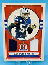 Jaylon Smith 2019 Panini Chronicles Hometown Heroes DUAL JERSEY SP #/199 Cowboys