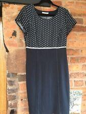 Steilmann Jersey Dress Size 14 Excellent Condition