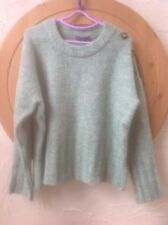 🍏M&S Collection Size XL Emerald Green Jumper- Feature Buttons On Left Shoulder