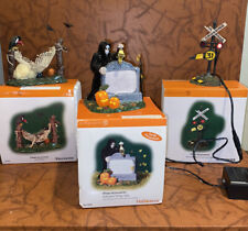 Department 56 Halloween Collection Accessories Lot- 3 Pcs with Box