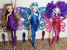 "EXCLUSIVE Winx Club TRIX SIRENIX 3 Doll Collection ICY STORMY DARCY 11.5"" Jakks"