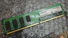 2GB Crucial ct25664aa667.m16fj3 pc2-5300u 667MHz DDR2 NON - ECC MEMORIA DEL