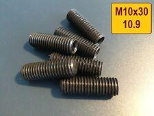 5 Stück, Stehbolzen M10x30, hochfest ,10.9 Abgaskrümmer Turbolader Krümmer
