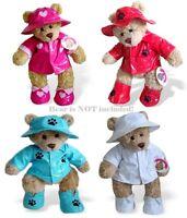 Teddy Bear Clothes Fit Build a Bear Teddies Raincoat Hat & Boots Bears Clothing