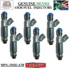 Yrs -02-06 Mazda MPV 3L V6 | OEM DENSO Set/6 Refurb Part#2M2E-A7B Fuel Injectors