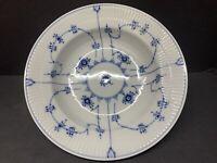 """VTG Royal Copenhagen Blue Fluted Floral Plain Large Soup Bowl 9"""" W 1ST QUALITY *"""