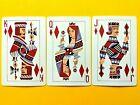 Court Set - C & O Railway Carrier Diamonds JQK Single Swap Playing Cards