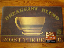 Memory Foam Anti Fatigue  Kitchen Floor Mat Rug 18x30 COFFEE Beans CUP Brown New