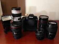 Cámara SLR digital Canon 5D MK III + Kit + Objetivo y flash