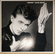 SIGNED TONY VISCONTI 12x12 DAVID BOWIE HEROES ALBUM COVER PRINT PROOF
