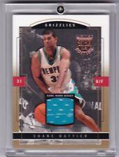 Shane Battier Game Worn Patch Basketball Card 2004 #48 Skybox Limited 06/10 - Mt