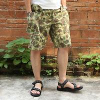 Bronson Herringbone Twill Duck Hunter Camouflage Spot Shorts US Army Uniforms