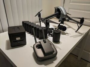 Dji Inspire 2 X5s with 8 batteries