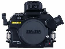 Sea and Sea MDX-EM5 MK ll Underwater  Housing for Olympus E-M5 Mark II
