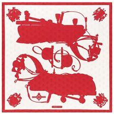 "Hermes ""Tattoo"" silk twill scarf, Abeilles pattern, 36"" x 36"" (100% silk)"