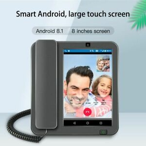 Smart LTE 4G Fixed Wireless Landline Videophone Android 8.1 SIM Network Glob