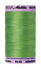 Bright Mint Mettler  9104-0092 Cotton Thread 50wt silk finish 547yds