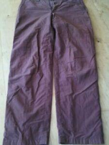 Gebrauchte Rostfarbe Herrenhose IN GR:48 Gebraucht