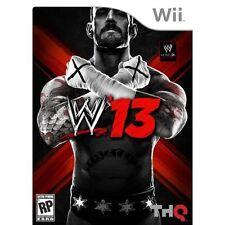 WWE 13 Nintendo Wii PAL COMPLETE