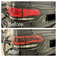 Jeep Grand Cherokee WK2 Tail light Centre Laminate Tint Kit