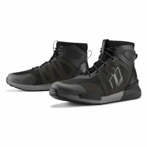 2020 ICON HOOLIGAN MOTORCYCLE BOOTS TEXTILE BREATHABLE - PICK SIZE/COLOR