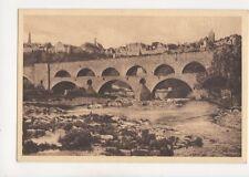 Rothenburg o T Doppelbruecke Mit Stadtpartie Vintage Postcard Germany 074b