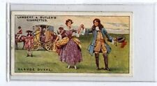 (Ja7493-100) Lambert & Butler,Pirates & Highwaymen,claude Duval,1926#9