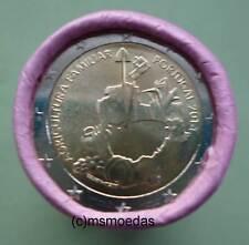 Portugal 2 Euro Rolle 2014 Landwirtschaft mit 25x 2 Euro Gedenkmünzen coins roll