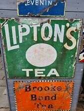 More details for liptons tea sign
