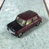 Corgi Toys No.226 Morris Mini Minor Car (1960-67) Maroon For Restoration