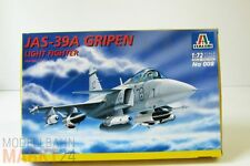 ITALERI 008 Flugzeug-Bausatz JAS-39A Gripen (OVP)