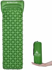 New listing Sleeping Mat Pad, Ultralight Sleeping Pad For Camping, Hiking Tent with pillow