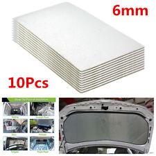 10Pcs 30*50m Self-Adhesive Car Trunk Sound Deadener Heat Mat Road Noise Dampener