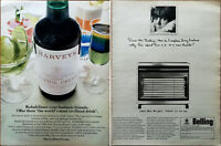 Harveys Bristol Cream World's Most Civilized Drink / Belling Jubilee Advert 1965