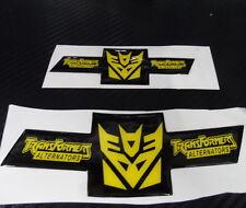 Car Transformers Decepticon Badge Emblem Soft PVC Epoxy 2009-14 CRUZE Front Rear