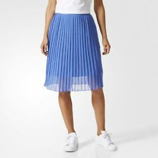 adidas Originals Womens Pleated Ocean Elements Skirt Blue