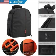 Camera Bag Backpack Waterproof Shockproof For Canon EOS Sony Nikon DSLR pq