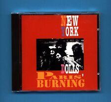 CD  NEW YORK DOLLS PARIS' BURNING CD83