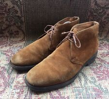 Church's Ryder Suede Leather Brown Chukka Boots Size UK 9