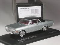 selten: Minichamps Opel Diplomat V8 Coupé 1965 silber 1:43 in OVP