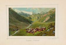 Hintertuxer Gletscher Tuxer Ferner Tuxbach Glacier Zillertal Tirol Olperer
