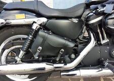 BORSA BISACCIA LATERALE DESTRA PELLE MOTO HARLEY DAVIDSON SPORTSTER XL 1200