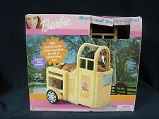Rare Barbie  Horse and trailer Giftset  New sealed Mattel 2000 made in Italy