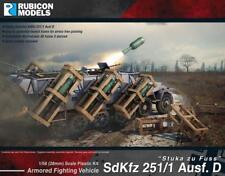Sdkfz 251/1 Ausf. D Stuka Zu alboroto (28 MM) 1/56 escala-Rubicon 280020-P3