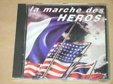 CD RARE / MARCHES MILITAIRES DU MONDE / LA MARCHE DES HEROS / TRES BON ETAT